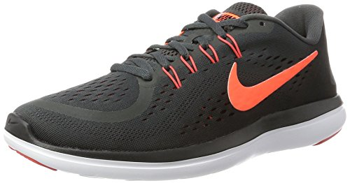 Nike Men's Flex 2017 Rn Running Shoe (8.5 D(M) US, Anthracite/Hyper Orange/Black/Track Red)
