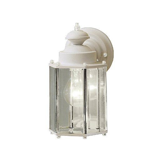New Street Outdoor Sconce - Kichler 9618WH Street Outdoor Sconce, White