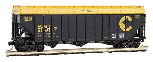 Micro Trains N 100-Ton 3-Bay Hopper CS