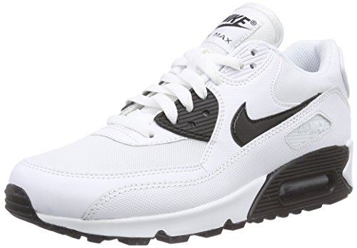 5e85852905 Nike Women's Air Max 90 Essential White/Black Running Shoe 8.5 ...