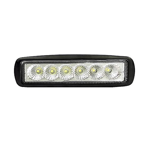 80 discount on 6 inch atv led light bar 18w offroad driving led 6 inch atv led light bar 18w offroad driving led flood light 1800lm extremely bright led fog light for 4x4 cabin boat ship suv deck mining1pc aloadofball Gallery