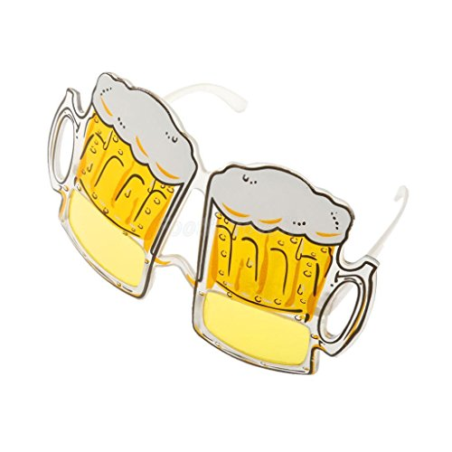 VIPASNAM-Hawaiian Novelty Sunglasses Beer Glasses Goggles for Costume Fancy Party