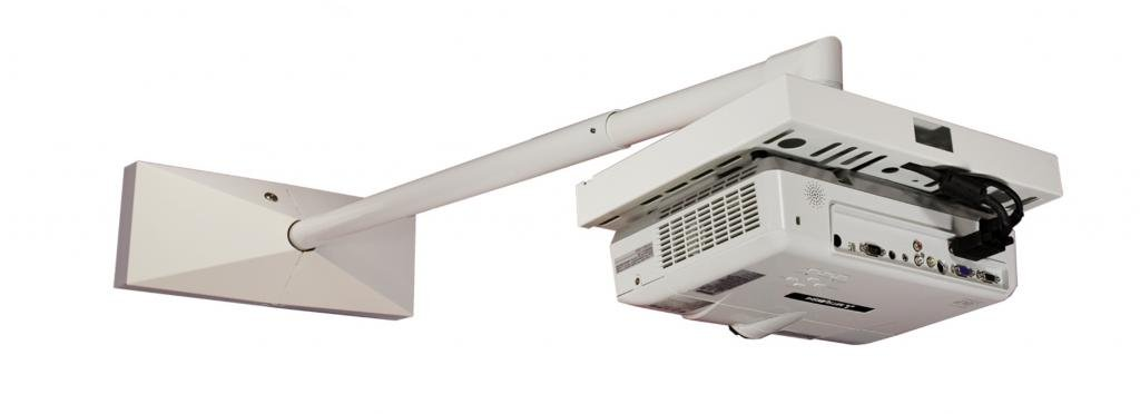 (Small) BMS Close Throw, Locking Projector Wall Mount
