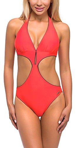 Donna Monokini da Rosso 1R571 aQuarilla qFfECww
