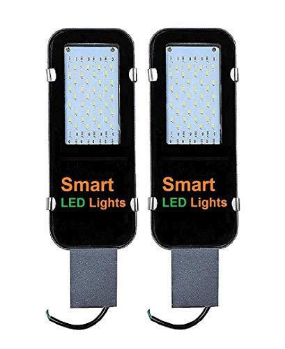 Smart led light Waterproof 36 Watt Outdoor Street Light (Pack of 2, White Light)