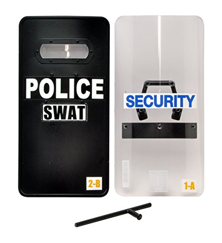 Tomytec Little Armory LD005: Police Shield B Type Plastic Model (Ballistic Shield)