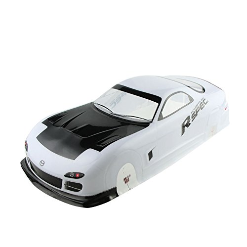 Coolplay 1/10 PVC Car Body Shell RC Racing Car Accessories for Mazada Rx7