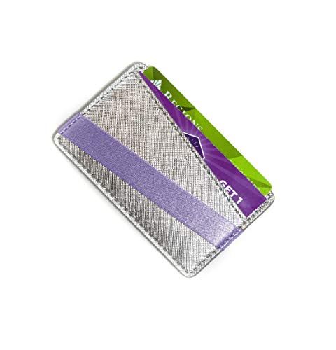 Tech Candy to Have & to Hold Phone Wallet - Platinum/Lavender (Tech Candy Phone Case)