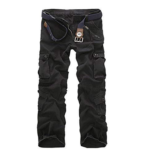 Unita Cotone bag Da In Tinta 5 Size Multi color Color Uomo Pantalone 40 Nalkusxi Esterni Per 2 zxYtwX