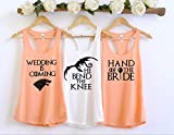 Game Of Thrones Bride Bachelorette Party Tank Tops