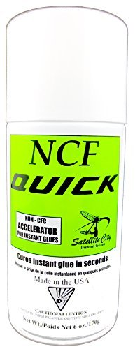 (Satellite City QA-6 NCF Quick Aerosol Accelerator 6 oz)