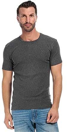 Mark-On T-Shirt For Men - 2Xl, Dark Gray