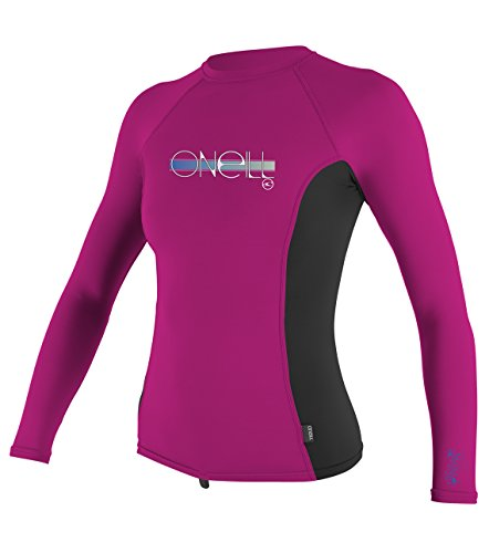 ONeill girls longsleeve rashguard UV protection Lycra shirt with 50