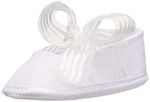 Ballet Skimmers - Baby Deer Shantung Ballet Skimmer (Infant/Toddler), White, 1 M US Infant