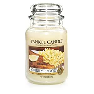 Schnitzel With Noodles Yankee Candle 22oz Jar Candle