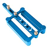 6/8/10MM Wood Dowel Hole Drilling Guide, Woodworking Self Centering Dowelling Jig, Locator Tool