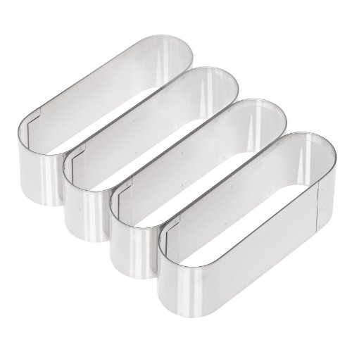 Ateco 5153 Oval Cutter (Chefs Cookie Cutters)