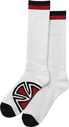 Independent Bar/Cross Socks White - Two Pair Bundle
