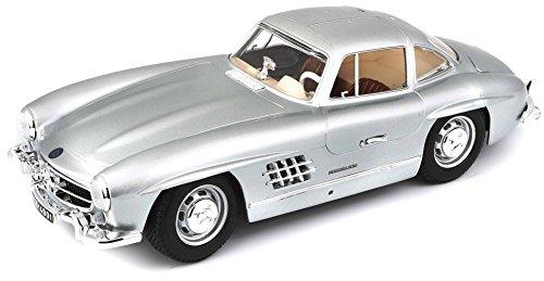 Bburago 1:18 Gold Mercedes-Benz 300 SL (1954)