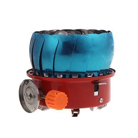 Resistente al viento douself batería de cocina estufa de cocina Gas hornillo de acampada para Camping Picnic barbacoa con bolsa para llevar: Amazon.es: ...