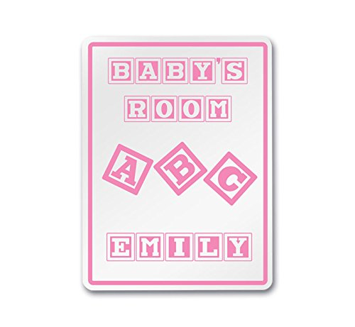 Emily - My Baby's Room Ideas - Girl Nursery Customizable Decorative 12