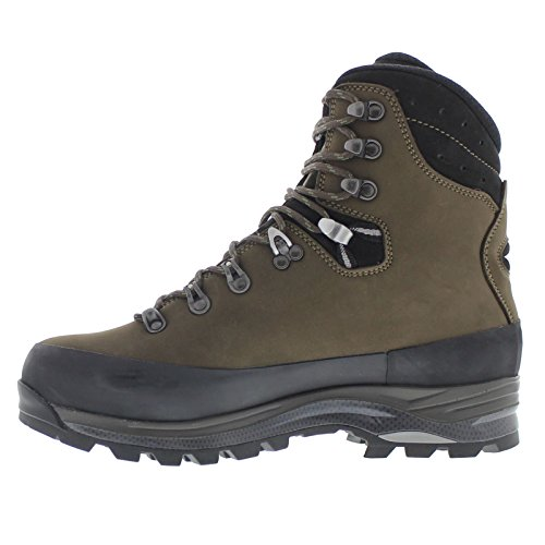 Lowa Men's Tibet GTX Trekking Boot,Sepia/Black,10 M US