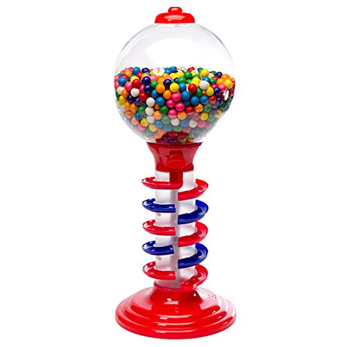 (Light and Sound Spiral Gumball Bank with Gumballs)