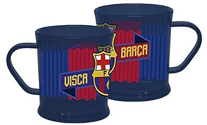 FCBARCELONA Taza de plástico apta para lavavajillas de Fc Barcelona (2/120)