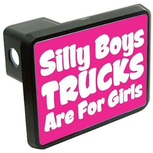 Trucks R 4 Girls Hitch Cover Knockout 575H Silly Boys