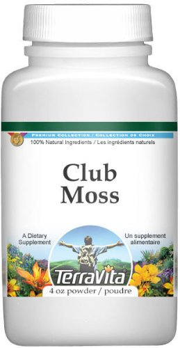 Club Moss (Lycopodium Clavatum) Powder (4 oz, ZIN: 511740)