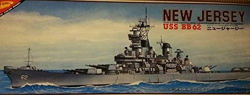 ニチモ 走らせてたのしむ30センチシリーズ モーターライズキット No.25 史上最強のミサイル戦艦 USS BB62 ニュージャージー 【325】