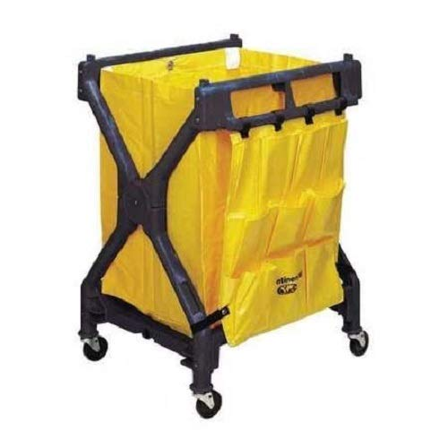 Continental 275, Black Huskee Folding Cart with Bag (Case of 1)