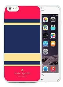 DIY Hot Sale iPhone 6 Plus Case,Kate Spade 302 White New Design iPhone 6 Plus 5.5 Inch TPU Phone Case