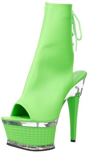 Pleaser - Botas mujer - Neon Blue/Green