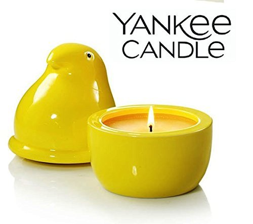 Yankee Candle Ceramic Peeps Marshmallow Chicks Fillable Candle ()