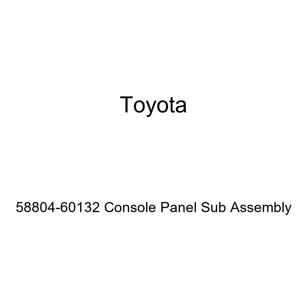 Toyota Genuine 58804-60132 Console Panel Sub Assembly