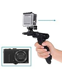 2 in1 empuñadura de pistola y trípode de mesa para GOPRO HERO 5, 4, Negro, sesión, Hero 4, Sesión, Negro, Plata, Hero + LCD, 3 +, 3, 2, 1 y otras cámaras digitales con una conexión para trípode