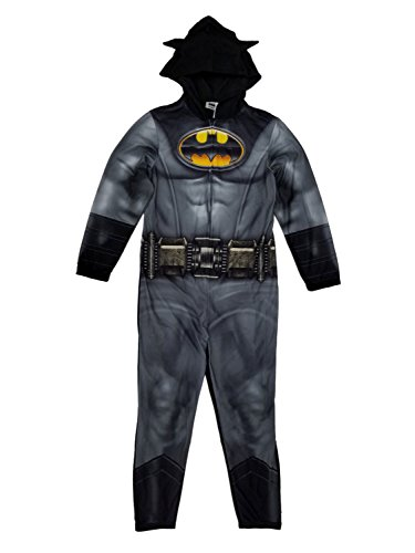 Warner Brothers Men's Batman Hooded Union Suit, Dusk Knight, -