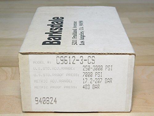BRAND NEW - Barksdale C9612-3-CS Pressure Switch Control Valve