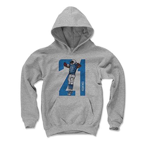 500 LEVEL LaDainian Tomlinson San Diego Chargers Youth Sweatshirt (Kids X-Large, Gray) - LaDainian Tomlinson Sketch 21 L ()