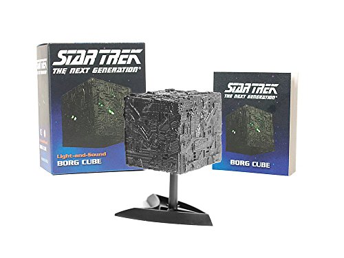 Star Trek: Light-and-Sound Borg Cube (Miniature Editions) (Trek Borg Star Cube)