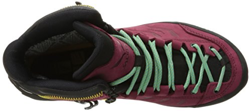 Salewa Women's Ws Rapace Gore-Tex High Rise Hiking Boots, Tawny Port-Limelight, 4.5 UK Red (Tawny Port / Limelight 8874)
