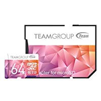 Team 64GB Color II microSDXC UHS-I/U3 Class 10 Memory Card Deals