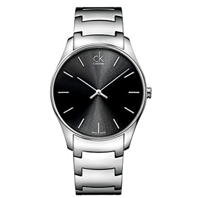 Calvin Klein K4D21141 Black Dial Stainless Steel Men's Watch