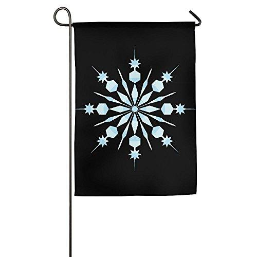 LLiYing-D Blue Snowflakes Printed Celebration