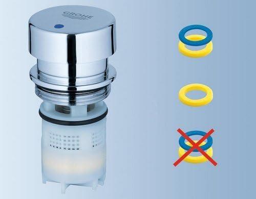 Grohe 36265000 Euroeco CS Self-Closing Sink Tap