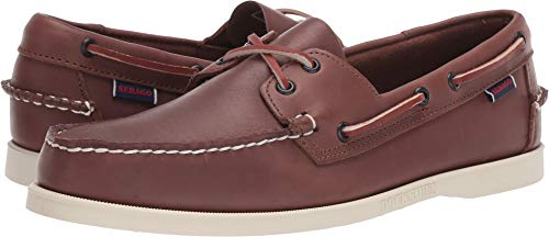 (Sebago Men's, Portland Boat Shoes Brown 8 M)