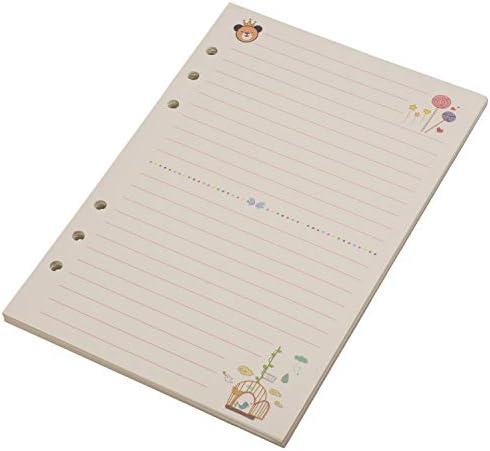 RETYLY A5 Niedliche Bunte Tagebuch Minen Spiralblock Ersetzen Farbe Kern Loses Blatt Briefpapier Geschenk Schule Planer Ringbuch Papier (Linie)