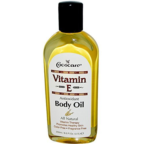 Price comparison product image Cococare, Vitamin E, Body Oil, 8.5 fl oz (250 ml) - 2pc