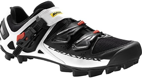 Mavic 216 Men's Crossmax SL Pro Carbon Mountain Bike Cycling Shoe - L378824 (White/Black/Yellow Mavic - (Pro Carbon Mountain Bike Shoe)